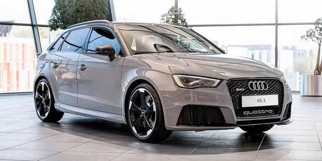 Audi RS3 Sportback цвета Nardo Gray от Audi Exclusive