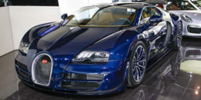 В Дубае продан уникальный Bugatti Veyron Super Sport