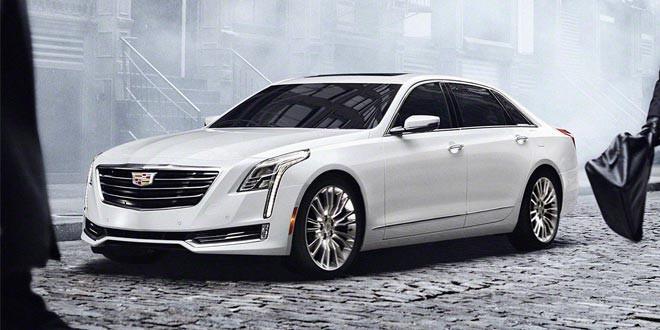 Флагманский седан Cadillac CT6 получил гибридную версию