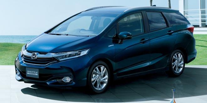 Honda показала новый минивэн Shuttle