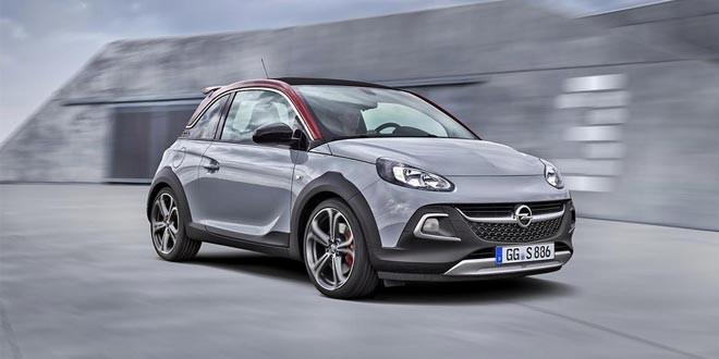 Opel выпустил «горячую» версию Adam Rocks