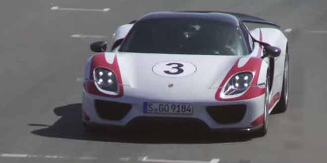 Porsche 918 Spyder установил рекорд трассы Филлип-Айленд