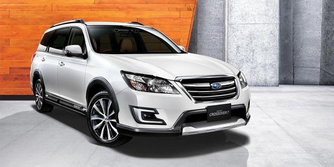 Компания Subaru показала универсал для бездорожья Exiga Crossover 7