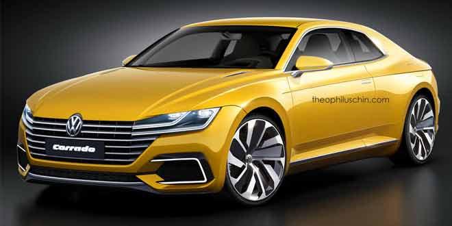 Volkswagen Corrado — рендер преемника для VW Scirocco