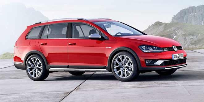 Volkswagen выпустит американскую версию VW Golf Alltrack