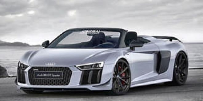 Очередной авторский рендер Audi R8 GT Spyder