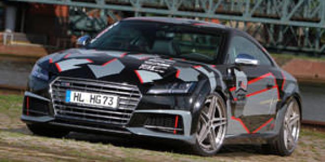 Новую Audi TTS прокачали в HG-Motorsport
