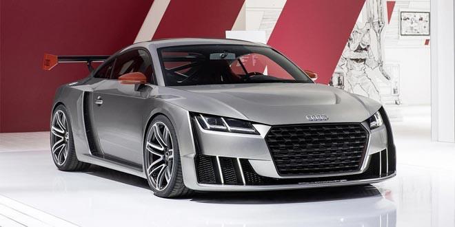 Концепт Audi TT Clubsport Turbo сделал дебют в Австрии