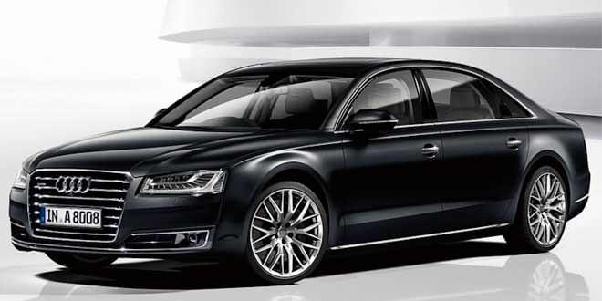 Audi показала две новые спецверсии флагмана A8