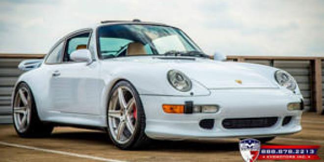 Porsche 993 Turbo на дисках ADV.1