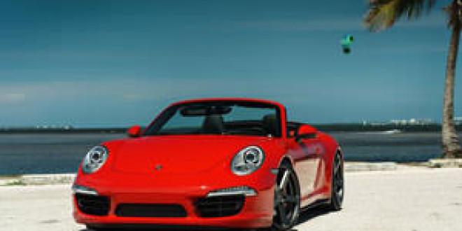 Porsche Carrera 4S на дисках Vorsteiner