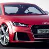 Возможная внешность Audi TT RS от TopSpeed