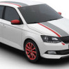 Skoda Fabia получила пакет персонализации Red & Grey Plus
