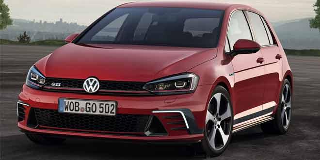 Рендер новых Volkswagen Golf и Golf GTI