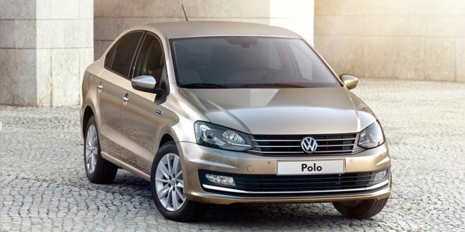 Представлен обновлённый седан Volkswagen Polo