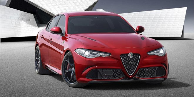 Новая Alfa Romeo Giulia предстала во всей красе