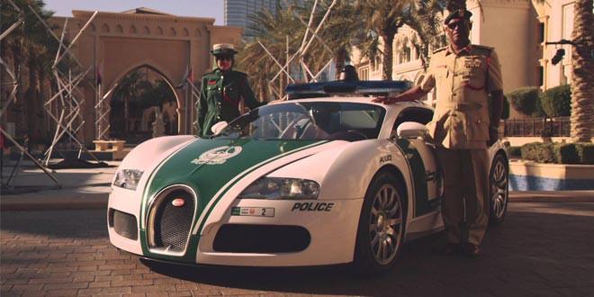 Bugatti Veyron дубайской полиции получил собственный промо-ролик