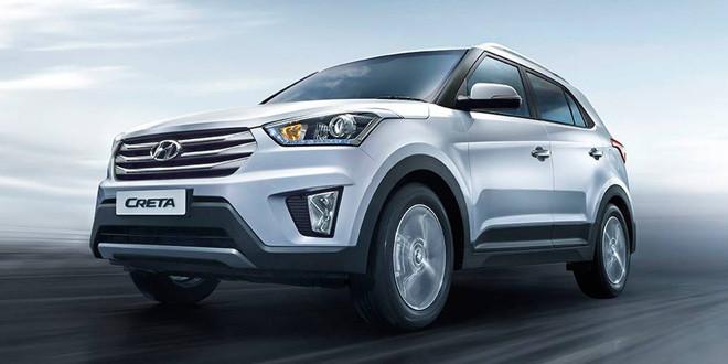Компания Hyundai выпустила компактный кроссовер Creta