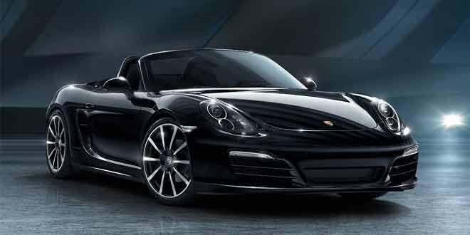 Porsche показала все фотографии 911 и Boxster Black Edition