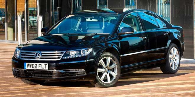 Volkswagen свернул продажи Phaeton в Британии