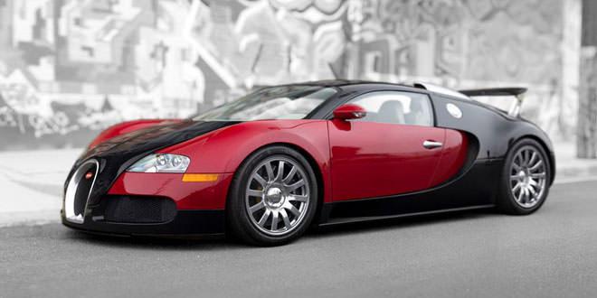 Первый Bugatti Veyron уйдет с молотка