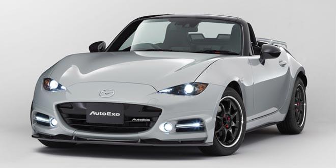 Ателье AutoExe тюнинговало новую Mazda MX-5