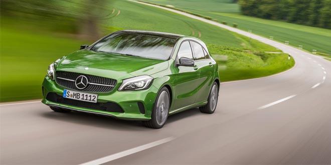 Представлено рестайлинговое семейство Mercedes-Benz A-Class