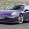 Великолепный фиолетовый экземпляр Porsche 911 GT3 RS