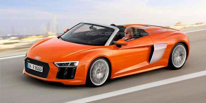 Audi R8 Spyder в очередном рендере