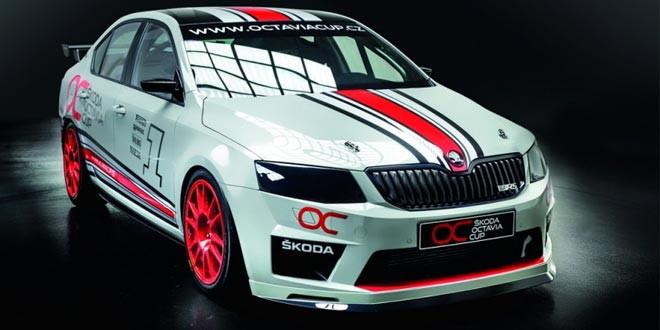 Подготовлена раллийная Skoda Octavia RS