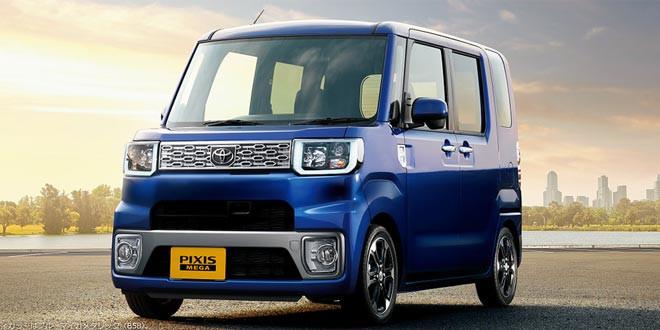 Toyota показала нановэн Pixis Mega