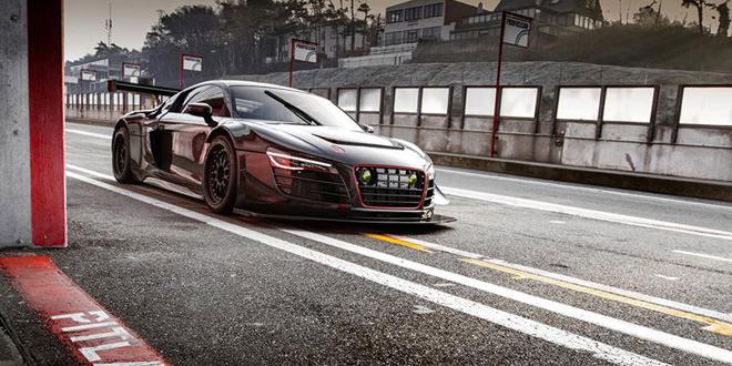 Перерождение Audi R8 в GT3 LMS от Mcchip-DKR