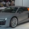 Audi R8 V10 Plus оттенка Nardo Gray от Audi Exclusive