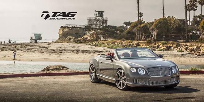 Легкий пакет апгрейда от TAG Motorsports для Bentley Continental GTC
