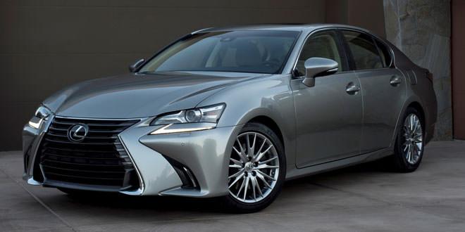 Компания Lexus обновила седан GS