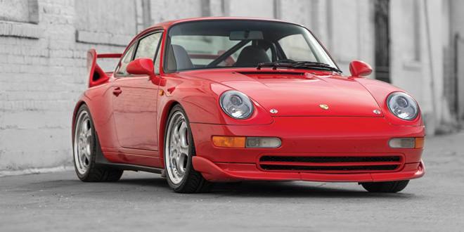 Porsche 911 Carrera RS 3.8 1996 года продадут с аукциона