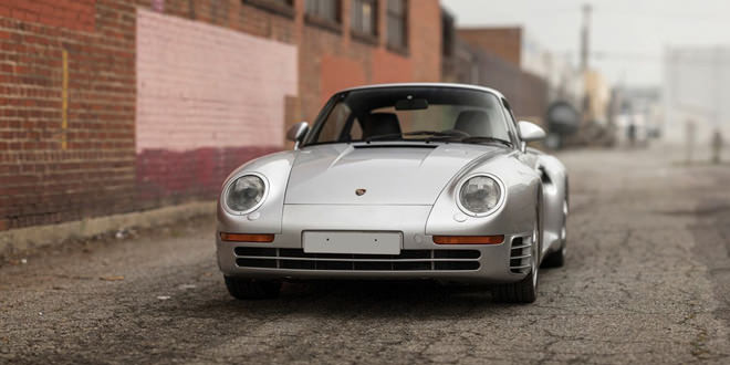 Редкий Porsche 959 Komfort 1988 года уйдет с молотка