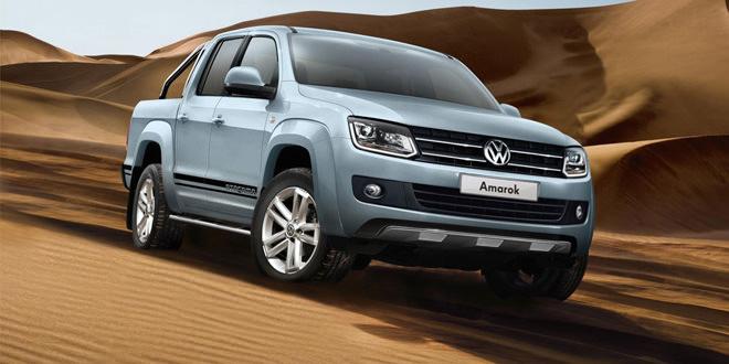 Пикап VW Amarok получил спецсерию Atacama
