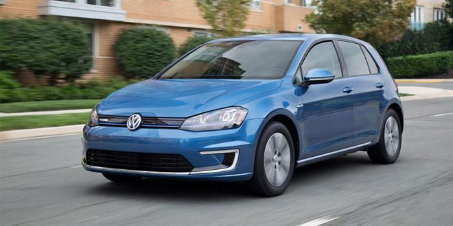 Volkswagen представил новую начальную версию электрокара e-Golf