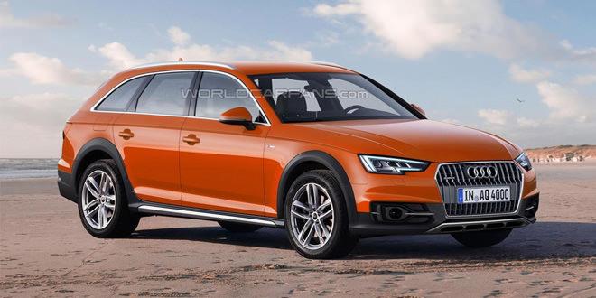Новую Audi A4 allroad покажут весной на Женевском автосалоне