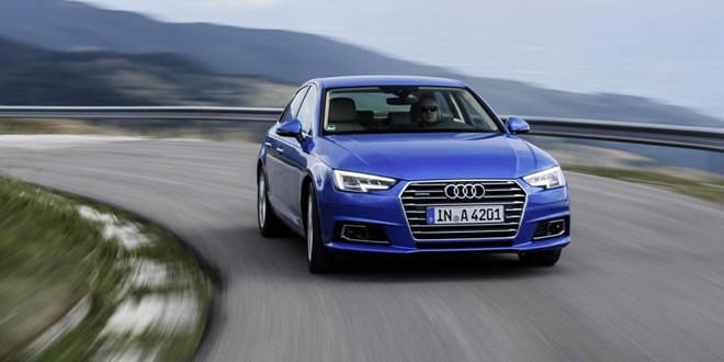 Большая фотосессия новой Audi A4