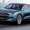Audi e-tron quattro — концептуальный предвестник конкурента Tesla Model X