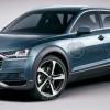 Рендер Audi Q6 из концепта e-tron quattro
