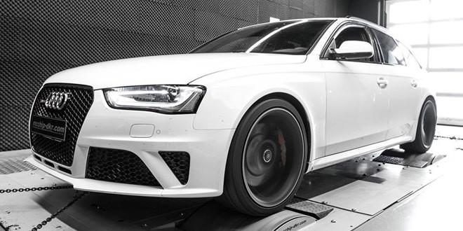 Тюнер Mcchip-DKR прокачал Audi RS4 до 580 л.с.