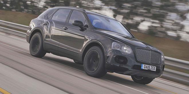 Bentley Bentayga разогнали до 301 км/ч