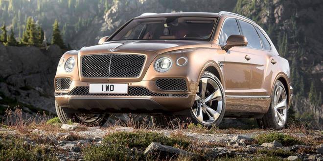 Внедорожник Bentley Bentayga окончательно рассекречен