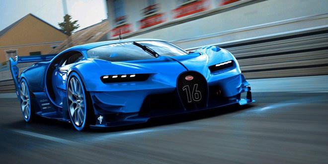 Bugatti Vision Gran Turismo перешел из симулятора в реальность
