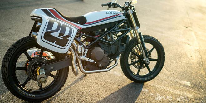 Стрит-трекер Ducati Monster от Алекса Эрла