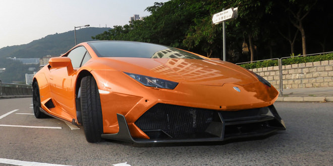 Тюнер DMC подготовил Lamborghini Huracan E-GT