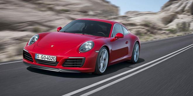 Porsche 911 Carrera и Carrera S пережили рестайлинг